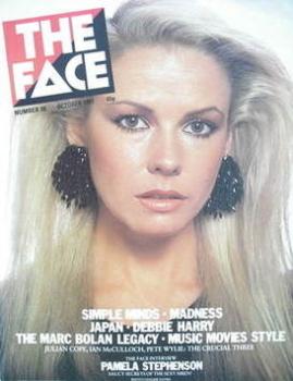 <!--1981-10-->The Face magazine - Pamela Stephenson cover (October 1981 - Issue 18)