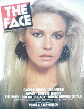 <!--1981-10-->The Face magazine - Pamela Stephenson cover (October 1981 - I