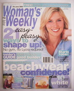 <!--2005-06-07-->Woman's Weekly magazine (7 June 2005)