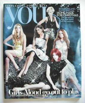 <!--2008-12-07-->You magazine - Girls Aloud cover (7 December 2008)