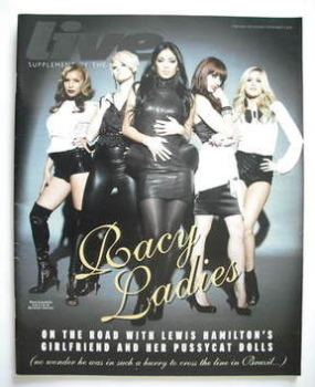 Live magazine - Pussycat Dolls cover (9 November 2008)