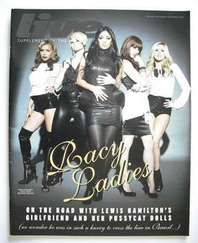 <!--2008-11-09-->Live magazine - Pussycat Dolls cover (9 November 2008)