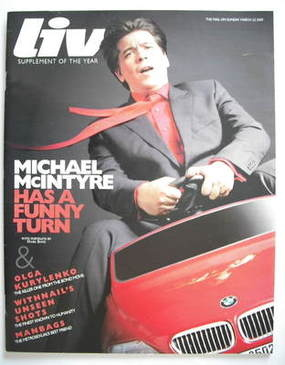 <!--2009-03-22-->Live magazine - Michael McIntyre cover (22 March 2009)
