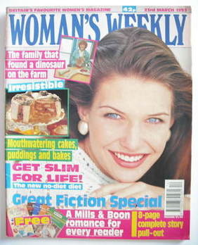 <!--1993-03-23-->Woman's Weekly magazine (23 March 1993)