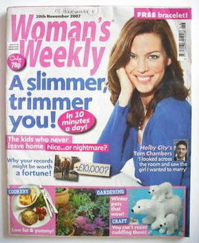 <!--2007-11-20-->Woman's Weekly magazine (20 November 2007 - British Editio