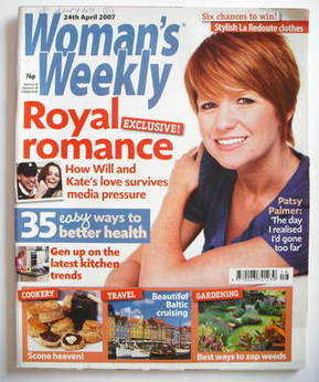 <!--2007-04-24-->Woman's Weekly magazine (24 April 2007 - British Edition)