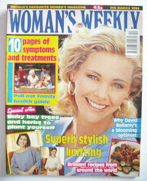 <!--1993-03-09-->Woman's Weekly magazine (9 March 1993)