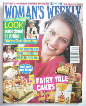 <!--1993-08-03-->Woman's Weekly magazine (3 August 1993)