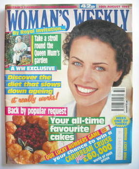 <!--1993-08-10-->Woman's Weekly magazine (10 August 1993)