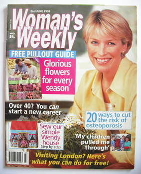 <!--1998-06-02-->Woman's Weekly magazine (2 June 1998)