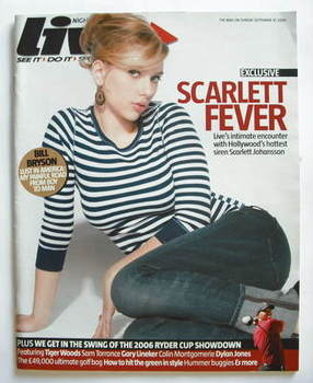 <!--2006-09-10-->Live magazine - Scarlett Johansson cover (10 September 200