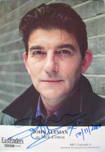 John Altman autograph (ex EastEnders actor)