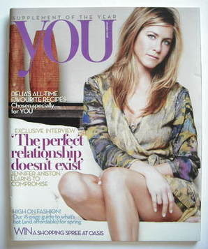 <!--2009-03-08-->You magazine - Jennifer Aniston cover (8 March 2009)