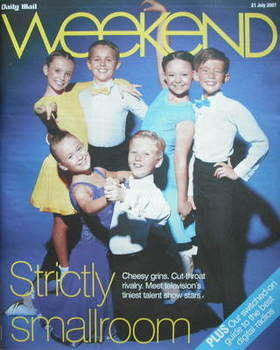 <!--2007-07-21-->Weekend magazine - Strictly Smallroom cover (21 July 2007)