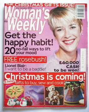 <!--2000-10-31-->Woman's Weekly magazine (31 October 2000)