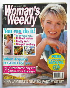 <!--1998-08-11-->Woman's Weekly magazine (11 August 1998)
