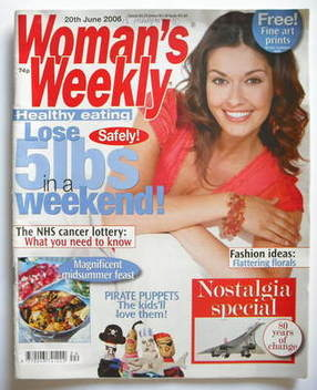 <!--2006-06-20-->Woman's Weekly magazine (20 June 2006 - British Edition)