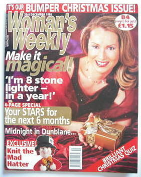 <!--1999-12-21-->Woman's Weekly magazine (21 December 1999)
