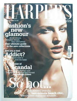 <!--2004-08-->British Harpers & Queen magazine - August 2004 - Vivien Solar