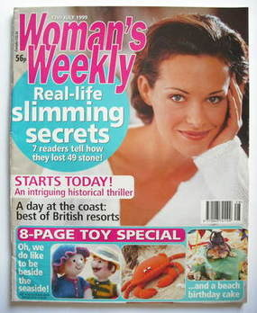 <!--1999-07-13-->Woman's Weekly magazine (13 July 1999)