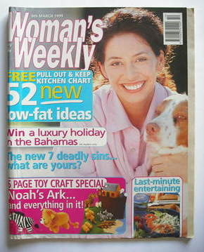 <!--1999-03-09-->Woman's Weekly magazine (9 March 1999)