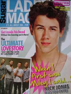 Lad magazine - Nick Jonas cover (October 2009)