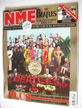 <!--2009-09-12-->NME magazine - The Beatles cover (12 September 2009)