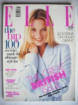 <!--1996-11-->British Elle magazine - November 1996 - Kate Moss cover