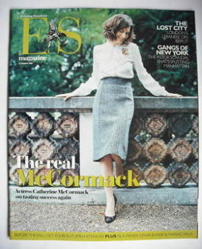 Evening Standard magazine - Catherine McCormack cover (11 August 2006)