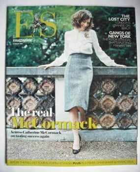 <!--2006-08-11-->Evening Standard magazine - Catherine McCormack cover (11 August 2006)