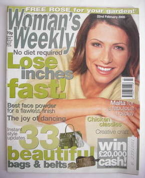 <!--2005-02-22-->Woman's Weekly magazine (22 February 2005)