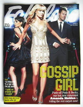 <!--2009-07-26-->Fabulous magazine - Amanda Holden cover (26 July 2009 - Is