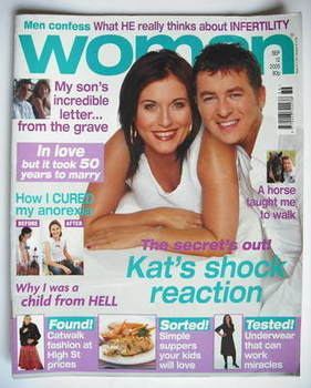 <!--2005-09-12-->Woman magazine - Jessie Wallace and Shane Richie cover (12