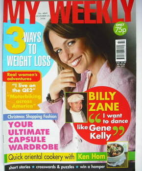 My Weekly magazine (25 November 2006)