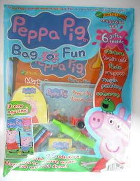 <!--2009-07-->Peppa Pig magazine - Bag O Fun (July 2009 - Issue 1)