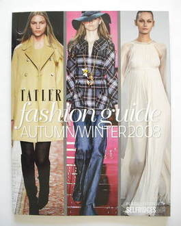 Tatler supplement - Fashion Guide Autumn/Winter 2008