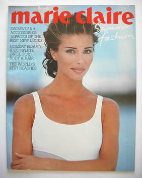 Marie Claire supplement - Jennifer Flavin cover (1993)