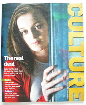 <!--2009-08-23-->Culture magazine - Katie Jarvis cover (23 August 2009)