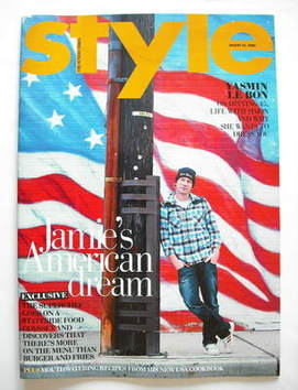 <!--2009-08-23-->Style magazine - Jamie Oliver cover (23 August 2009)