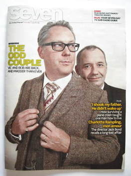 Seven magazine - Bob Mortimer and Vic Reeves cover (23 August 2009)