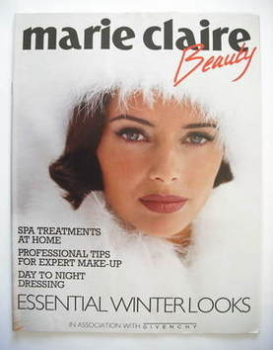 Marie Claire Beauty supplement - Heather Stewart-Whyte cover (1992)