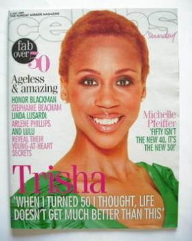 Celebs magazine - Trisha Goddard cover (5 July 2009)