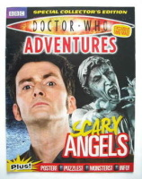Doctor Who Adventures supplement - Scary Angels cover (June 2009)