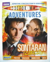 Doctor Who Adventures supplement - Sontaran Scares cover (June 2009)