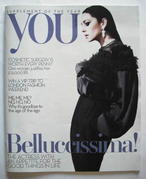 <!--2009-08-23-->You magazine - Monica Bellucci cover (23 August 2009)