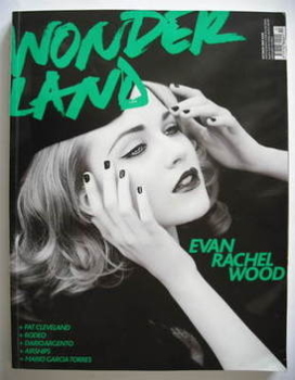Wonderland magazine - October/November 2007 - Evan Rachel Wood cover