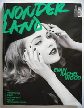 Wonderland magazine - October/November 2007 - Evan Rachel Wood cover
