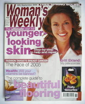 <!--2005-09-13-->Woman's Weekly magazine (13 September 2005 - British Editi