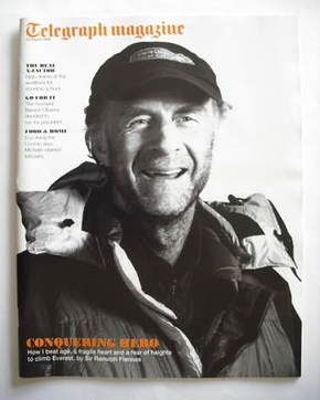 <!--2009-08-22-->Telegraph magazine - Sir Ranulph Fiennes cover (22 August
