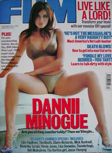 <!--1999-12-->FHM magazine - Dannii Minogue cover (December 1999)